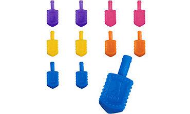 Plastic Dreidels 72ct