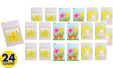 Easter & Springtime Activity Pads 24ct