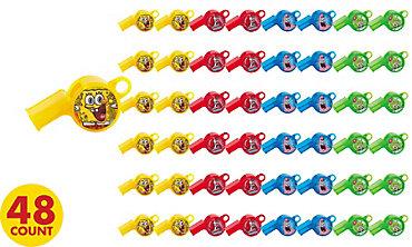 SpongeBob Whistles 48ct