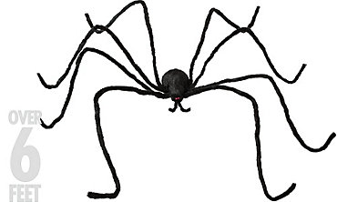 Poseable Furry Spider