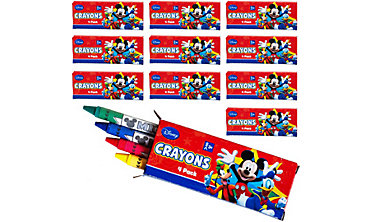 Mickey Mouse Crayon Boxes 48ct