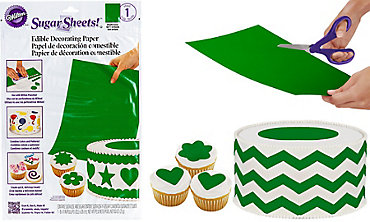 Bright Green Sugar Sheet