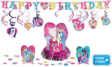 My Little Pony Party Decorations Kit