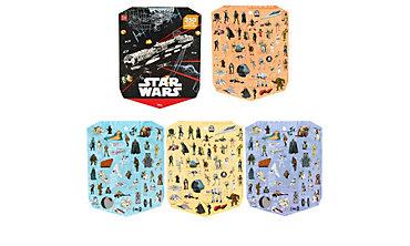 Jumbo Star Wars Sticker Book 8 Sheets