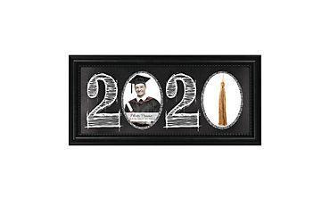 Black 2016 Graduation Photo Frame & Tassel Holder