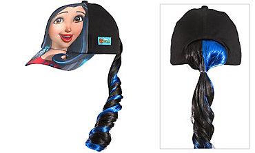 Child Evie Baseball Hat with Ponytail - Disney Descendants