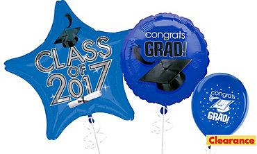 Royal Blue Graduation Balloons