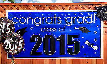 2015 Graduation Decorations