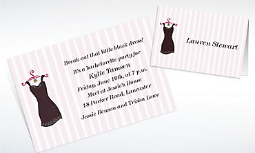 Bachelorette Party Invitations, Banners & Thank You Notes