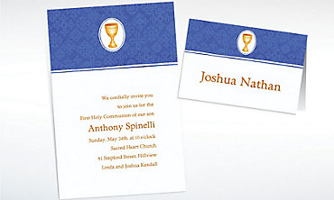 Custom Mod Chalice Invitations & Thank You Notes