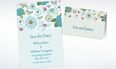 Custom Prancing Pattern Cool Invitations & Thank You Notes
