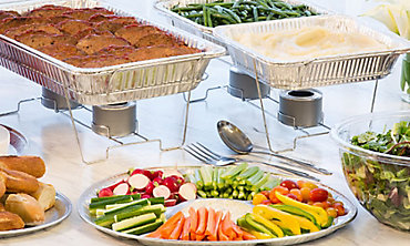 Catering Trays, Bowls, & Utensils
