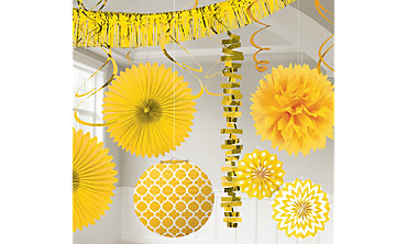 Yellow Decorations