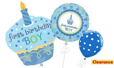 1st Birthday Boy Balloons