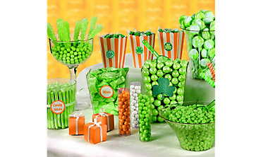 St Patricks Day Candy Buffet