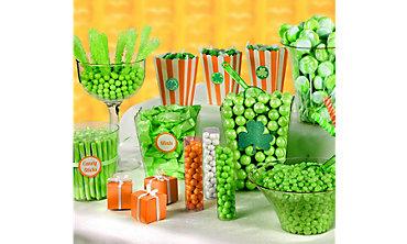 St Patricks Day Candy Buffet