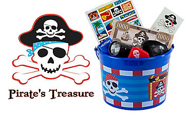 Pirate's Treasure Party Favors