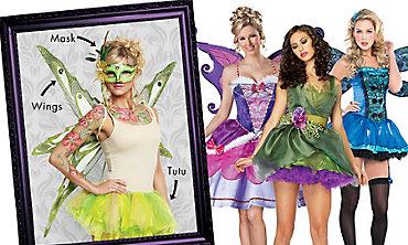 Woodland Fairy Mix & Match  Women's Looks
