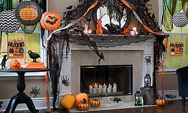 modern halloween decorations - Halloween Decoration Themes