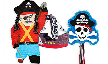 Pirate's Treasure Pinatas