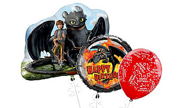 How to Train Your Dragon Balloons