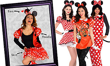 Minnie Mouse Mix & Match Women's Looks
