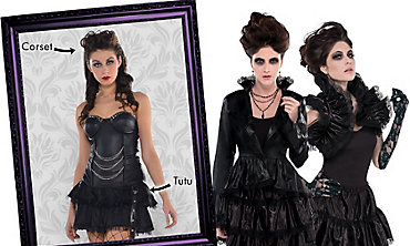 Vampire Mix & Match Women's Looks