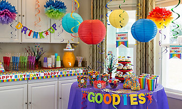 birthday decorations - Party Decorating Ideas For Adults