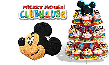 Mickey Mouse Cake Supplies