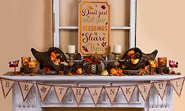 Thanksgiving Banners Garlands Amp Hanging Decorations