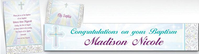 Custom Joyous Celebration Invitations & Thank You Notes