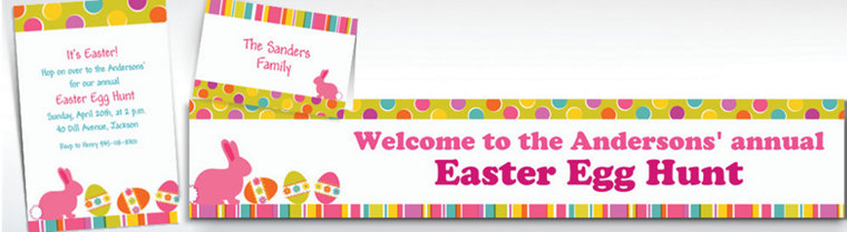 Custom Easter Expressions Invitations & Thank You Notes