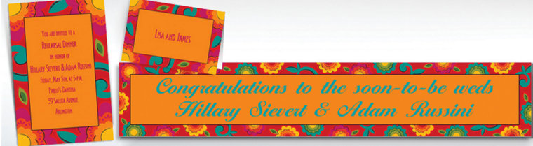 Custom Fiesta Caliente Invitations & Thank You Notes