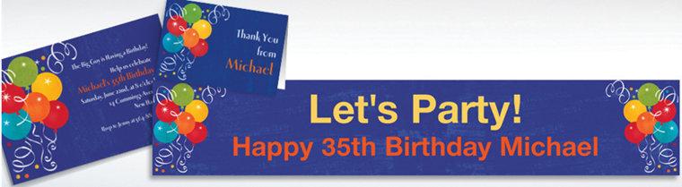 Custom Birthday Fever Invitations & Thank You Notes
