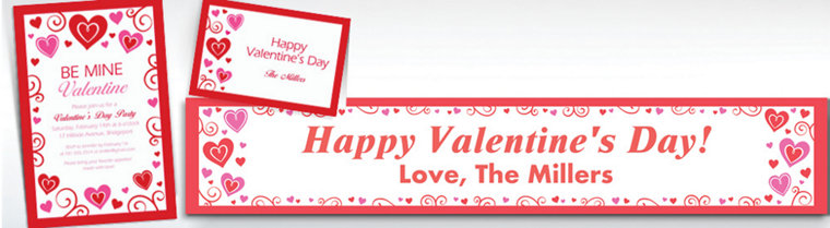 Custom Valentine Fun Invitations & Thank You Notes