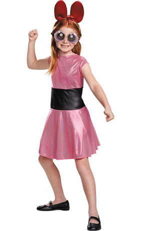 Girls Bubbles Costume - The Powerpuff Girls - Party City