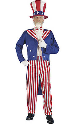 Uncle Sam Costume Adult