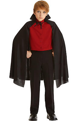 Child Black Cape