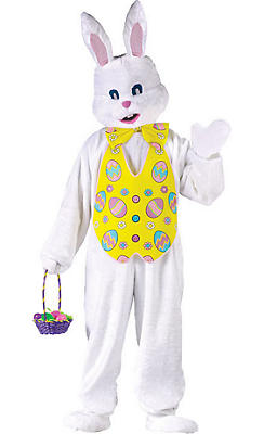 Adult Easter Bunny Costume Deluxe