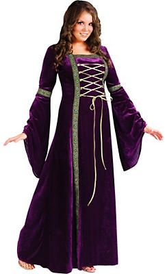 Adult Renaissance Faire Lady Costume Plus Size