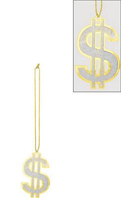 Super Dollar Sign Necklace