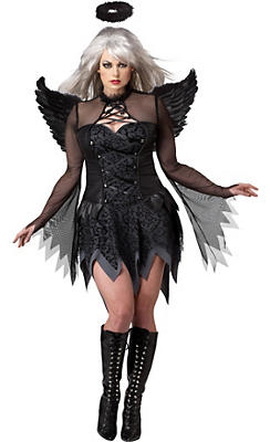 Adult Fallen Angel Costume Plus Size