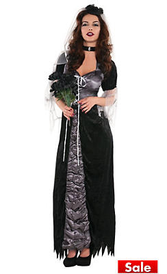 Adult Evil Maiden Costume