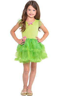 Girls Tinker Bell Tutu Dress