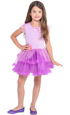 Girls Tutu Rapunzel Dress