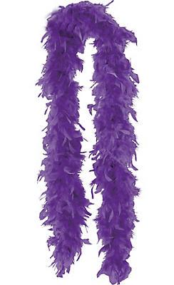 Bright Purple Boa 72in