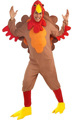 Adult Gobble Turkey Costume