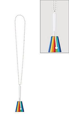 Rainbow Clacker Necklace