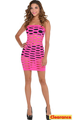 Electric Party Cutout Dress