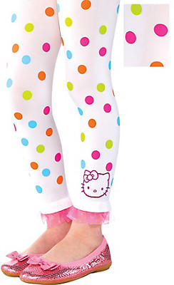 Child Hello Kitty Footless Tights